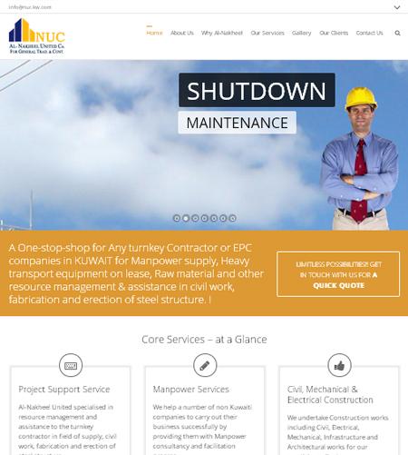 Website Design & Development Company Chennai, India » Al-Nakheel